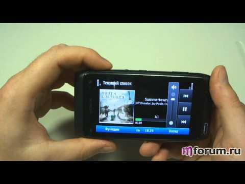 Обзор Nokia N8 - Музыка часть 1