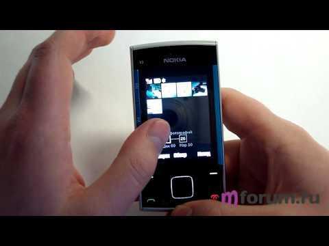 Обзор Nokia X3 - программы