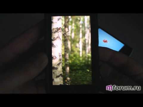 Обзор Nokia N8 - Дисплей