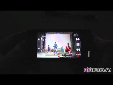 Обзор Nokia N8 - Воспроизведение видео