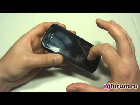 Обзор Nokia C6 - Внешний вид