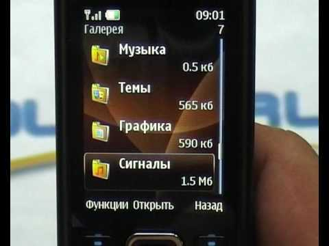 Видео обзор Nokia 6300 Choco от Quke.ru