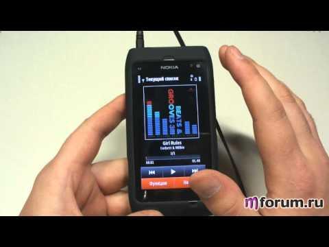 Обзор Nokia N8 - Музыка часть 2