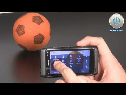Обзор Nokia N8 - видео