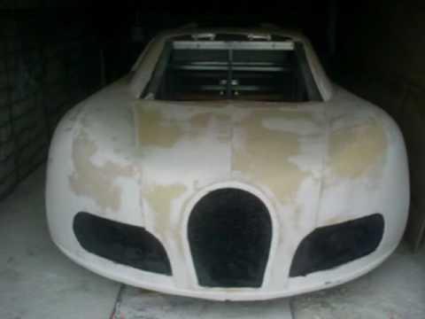 Bugatti Veyron своими руками