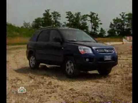 НТВ - Сравнительный тест-драйв Peugeot 3008 и KIA Sportage