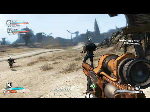 Borderlands: Gameplay Trailer 1 [HQ]