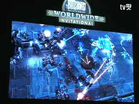 Starcraft 2 gameplay video