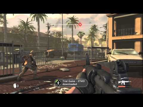 Battle: Los Angeles Video Game Trial HD Gameplay