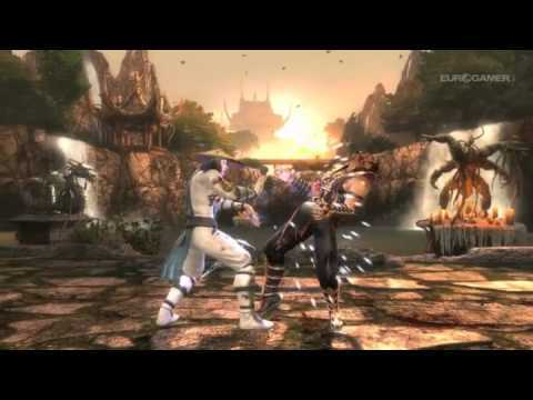 MK9 Raiden gameplay trailer - Mortal Kombat 2011