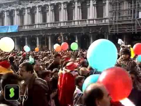 В субботу открылся карнавал в Венеции. Путешествия на STV.