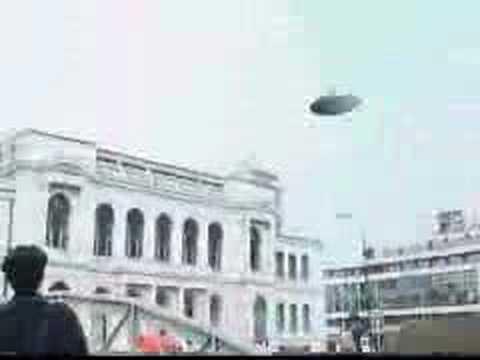 Real UFO in Sarajevo Bosnia (8.10.2005)
