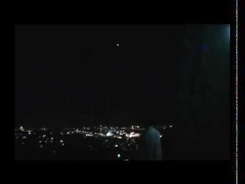 Real UFO Over Jerusalem