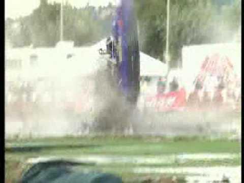 Jet boat crashes