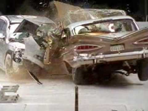 Crash test: 1959 Chevy Bel Air
