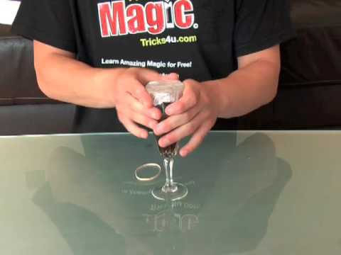 Magic Tricks Appearing Glass REVEALED
