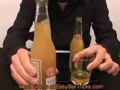 Freeze a beer in two seconds - Magic Trick