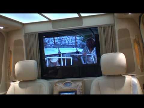 VIP Тюнинг Mercedes Sprinter  Новая Яхта  2011г  от Богема Авто