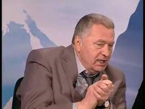 Опять Жириновский! Скандал и драка в прямом эфире