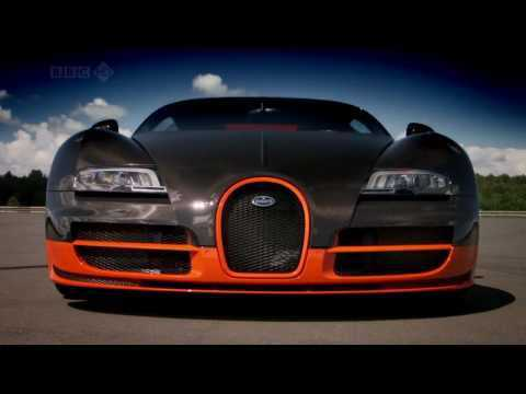 Bugatti Veyron SuperSport Top Gear Top Speed up to 431km/h