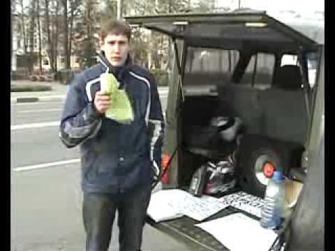 УАЗ - Пародия на top gear
