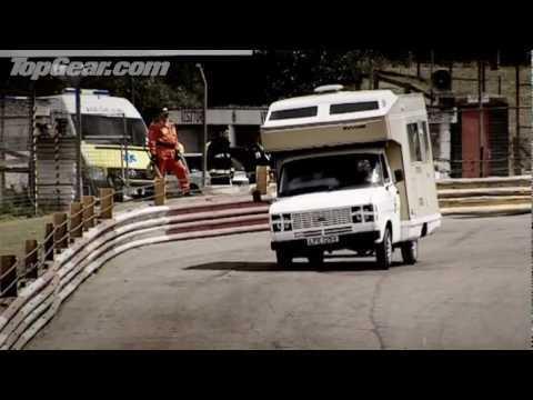 Extreme motorhome racing - Top Gear - BBC