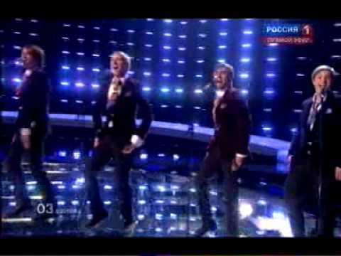 EUROVISION 2010 - ESTONIA - Malcolm Lincoln (Robin Juhkental) - Siren (1 semifinal)
