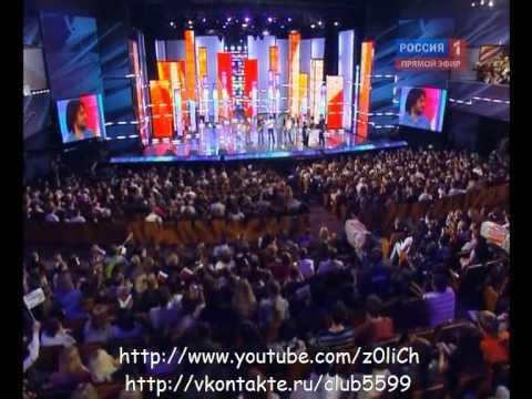 Дима Билан - Отбор Евровидение 2010 - Вручение Диплома