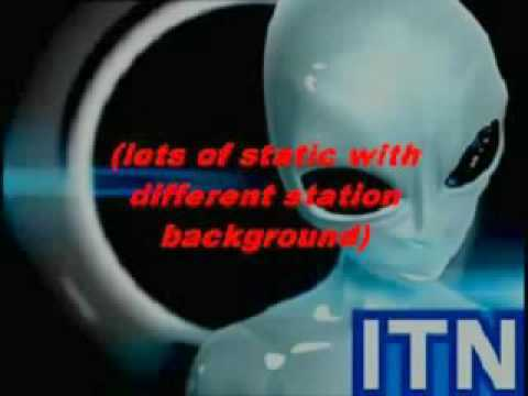 Incredible ITN Interrupted 1977 by A Real Alien Message