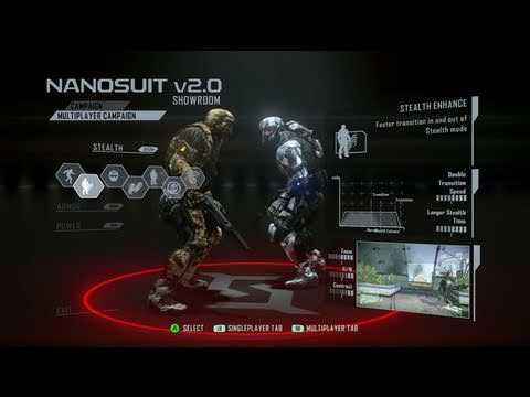 Crysis 2 Multiplayer Entwicklung Trailer: Der Nanosuit