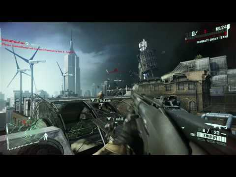 Crysis 2 Xbox 360 Multiplayer-Demo Einf?hrung