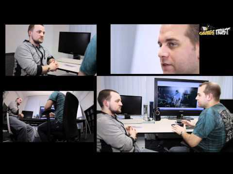 Crysis 2 - CryENGINE 3 interview 2/4 @GamesTrust TV