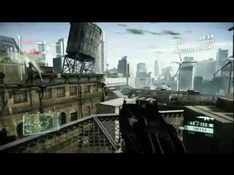 Crysis 2 - beta gameplay video
