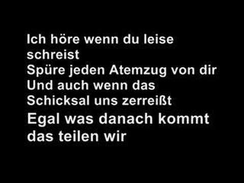 Tokio Hotel - In die Nacht with Lyrics