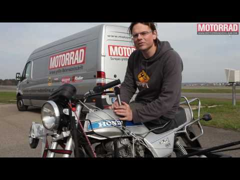 Making of: Biker-Jeans im MOTORRAD-Crashtest