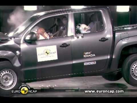 CRASH TEST du Pick-up Volkswagen Amarok 2011
