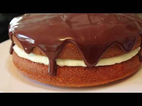 Boston Cream Pie Recipe - How to Make a Boston Cream Pie