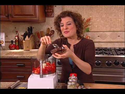 Raw Food Recipe - Zucchini Pasta with Marinara Sauce - A Raw Diet & Raw Recipe