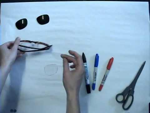 Как сделать 3D очки.flv