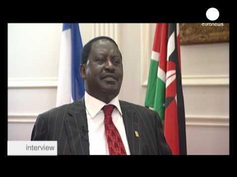 euronews interview - Премьер-министр Кении: Выборы...