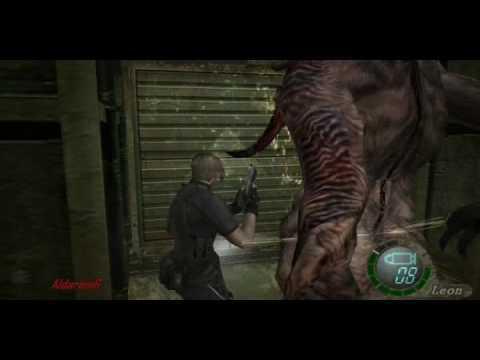 Resident evil 4, gu?a del juego (parte 54) Leon vs Ello