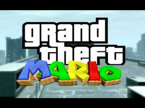 Grand Theft Mario (Grand Theft Auto IV Machinima)