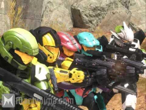 A Machinima War (Halo 3)