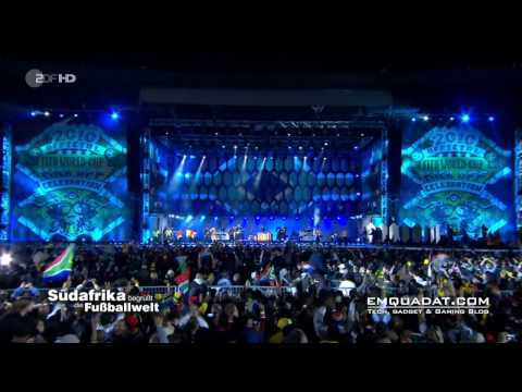 Black Eyed Peas - I gotta feeling - FIFA Worldcup Opening Concert - HD