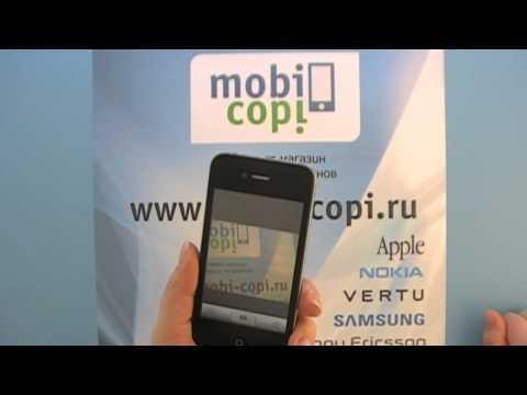 Видео обзор китайского телефона iPhone 4G