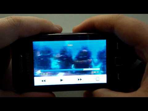 Обзор Samsung S5230 - просмотр YouTube видео