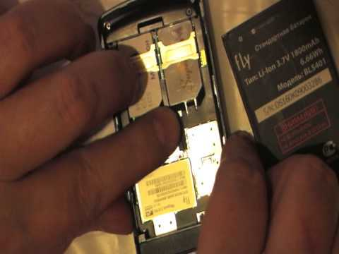 1/3 Fly DS160 test review Phone обзор тест телефон 2 sim карты