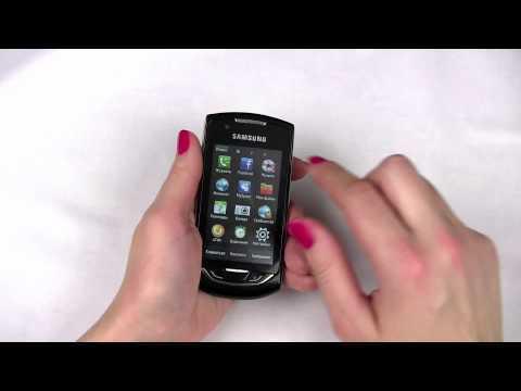 Обзор телефона Samsung S5620 Monte