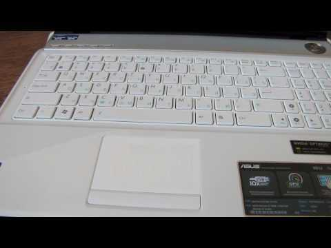 Обзор Asus N61JV review and unboxing [HD]