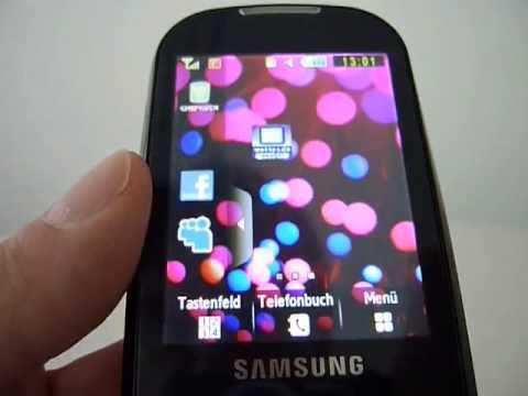 Kurztest Samsung Corby S3650